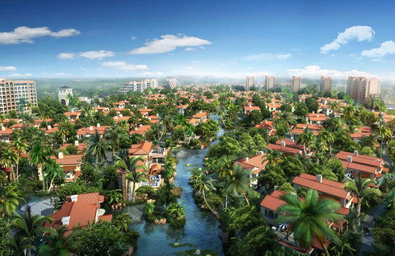 定安濱湖水岸項目,首創森林湖建面103㎡到105㎡的養老住宅在售,均價8800元/㎡