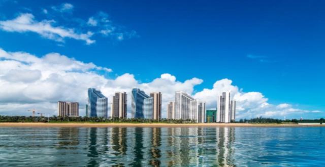 临高长岛蓝湾2019年12月工程进度播报 喜迎封顶