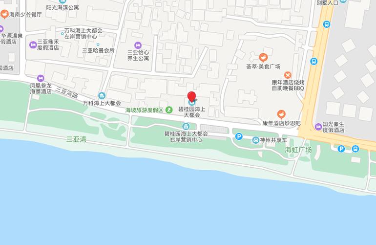 碧桂园海上大都会 区位图