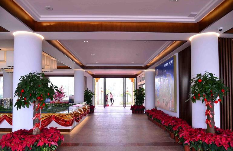 中信国安海岸 售楼处实景图