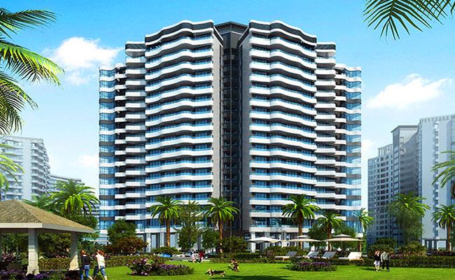 三亚碧桂园三亚郡在售均价30000元/㎡,纯板式通透住宅,瞰景亲海