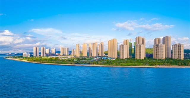 珠海仁恒滨海半岛五期建面85-95㎡洋房在售,均价34000元/㎡