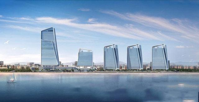 珠海仁恒滨海中心建面309-460㎡的房源在售,均价63000元/㎡