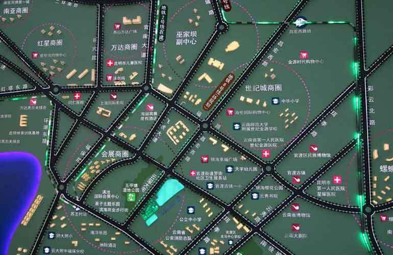 恒大玖珑湾 区位图