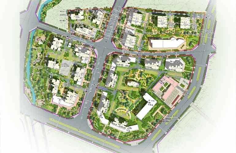 碧桂园北城映象 规划图