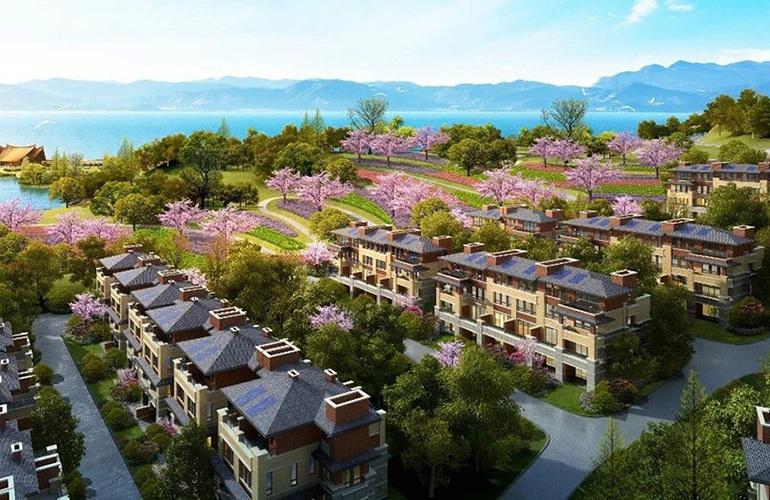 昆明古滇名城板式住宅在售,均价11000元/㎡