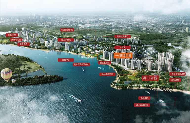 富力悦海湾 规划图