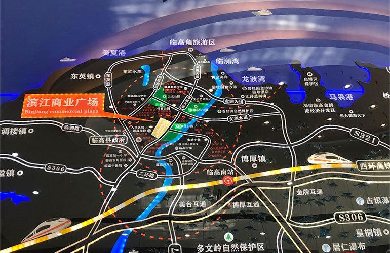 滨江商业广场区位图
