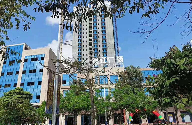 滨江商业广场实景图