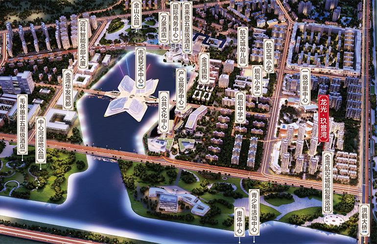 龙光玖誉湾 规划图