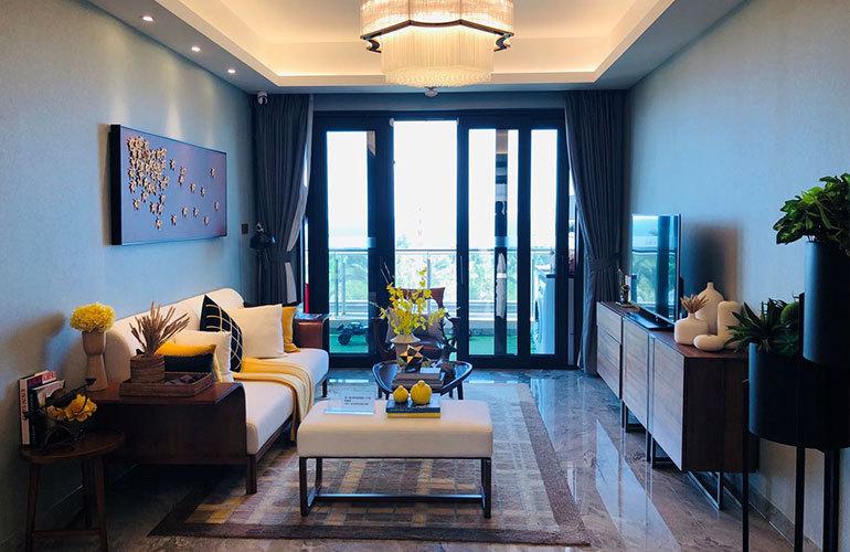 碧桂园海上大都会 106户型客厅
