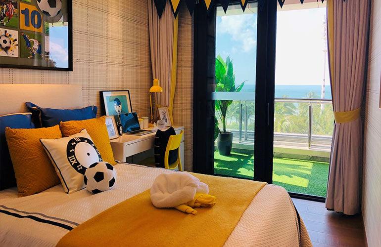 碧桂园海上大都会 106户型卧室