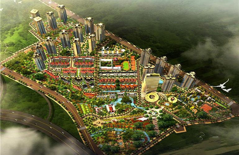 枫丹耀兴公馆俯瞰图