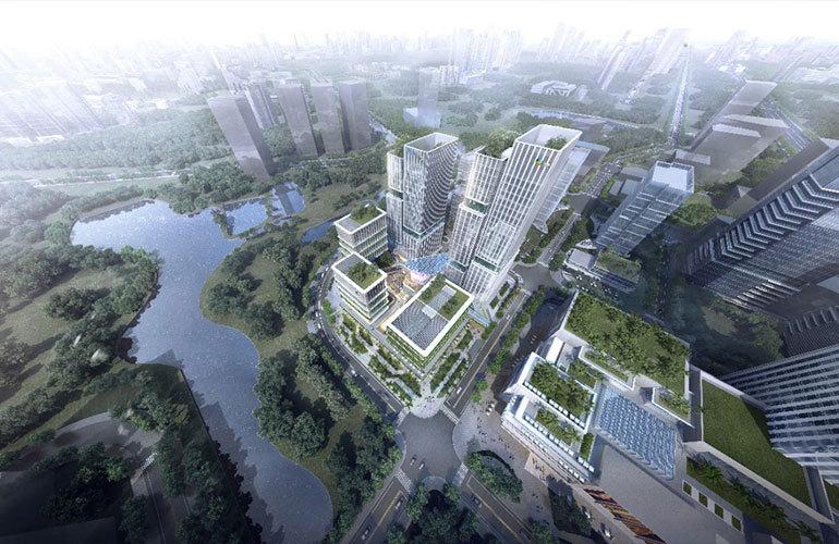 三亚大悦环球中心项目已完成总工程量的30%