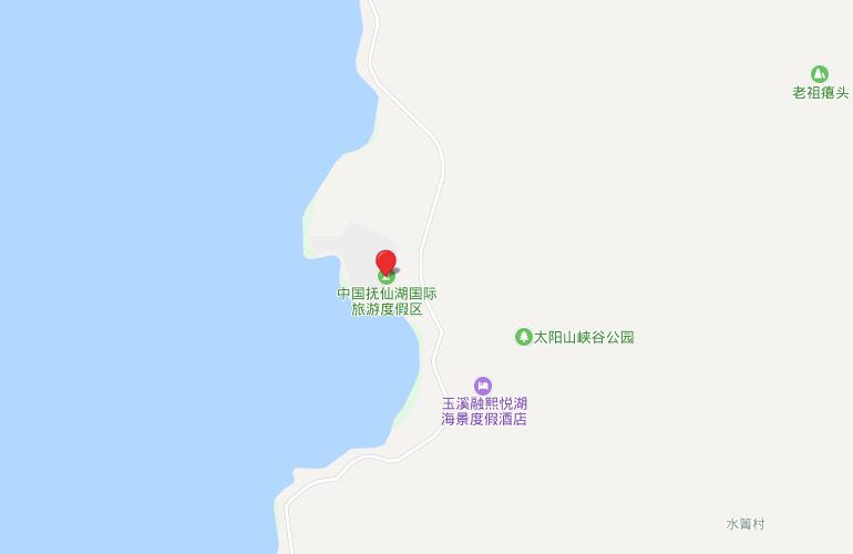 万科抚仙湖别墅 区位图