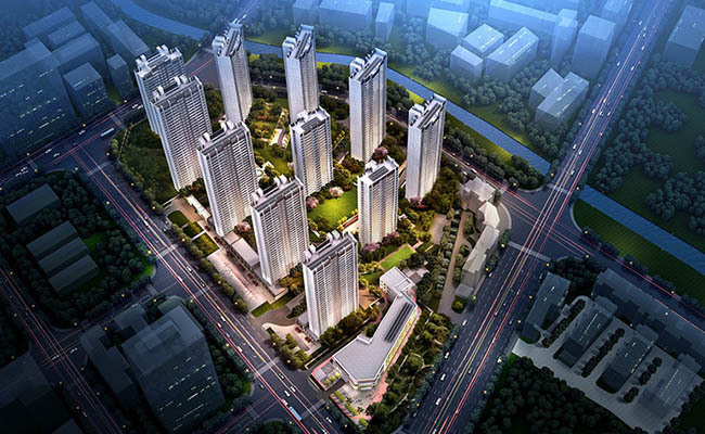 昆明雅居乐云和中心新品建面111-153㎡平层住宅,均价17500元/㎡