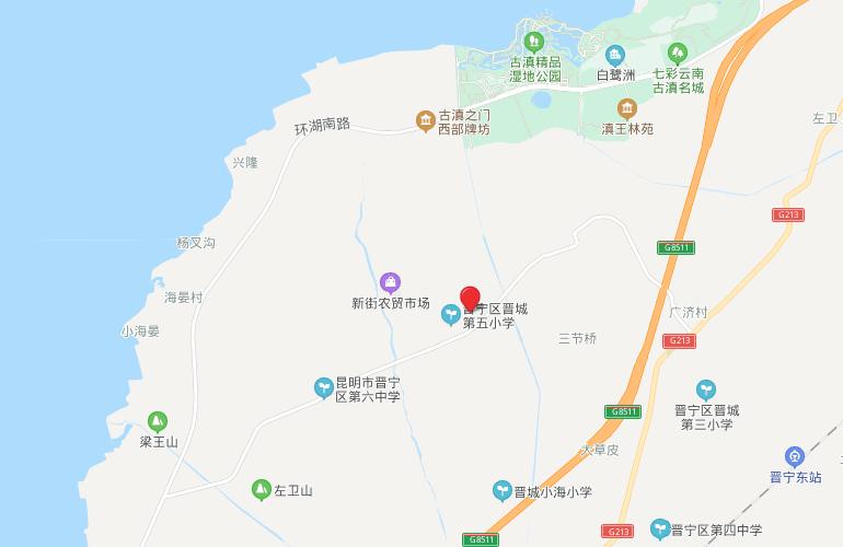 清凤滇池美岸 区位图