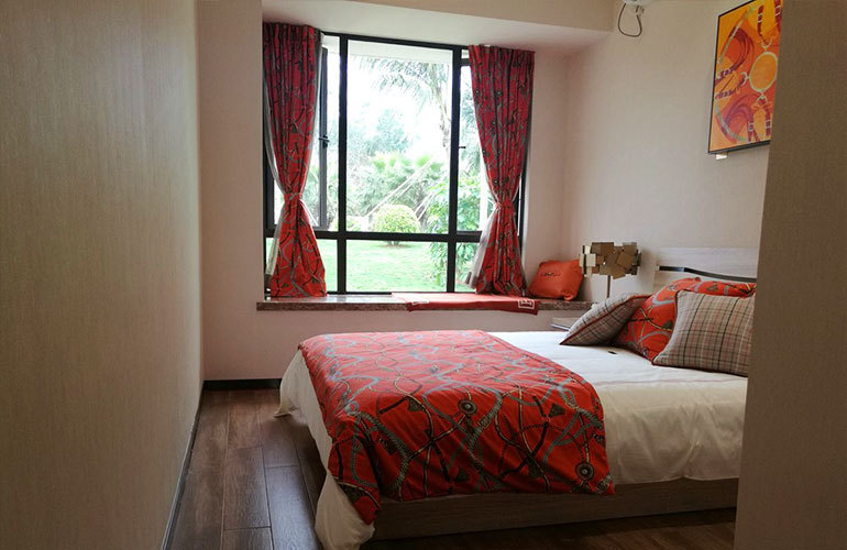 绿中海 卧室
