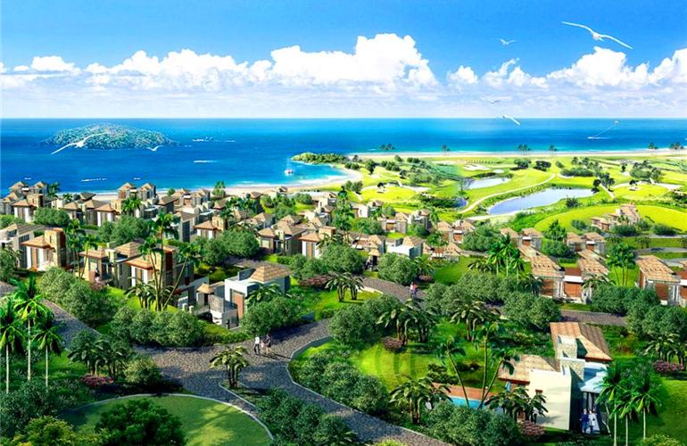 万宁华凯南燕湾悬崖海景别墅在售,总价680万/套