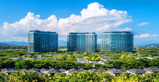 陵水葛洲坝海棠福湾一线海景公寓在售,均价55000元/㎡