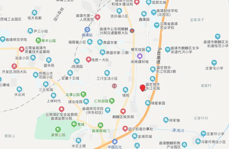 麒麟嘉园2期 区位图