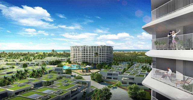 陵水智汇城酒店式公寓和别墅房源在售中,均价17000元/㎡