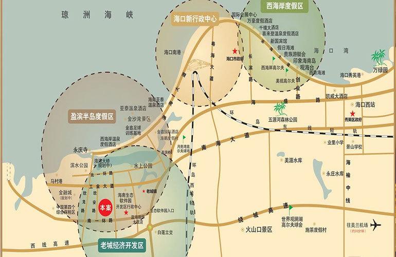 冠永凤凰城 区位图