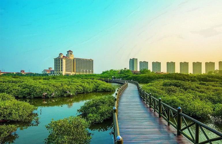 冠永凤凰城 湿地公园