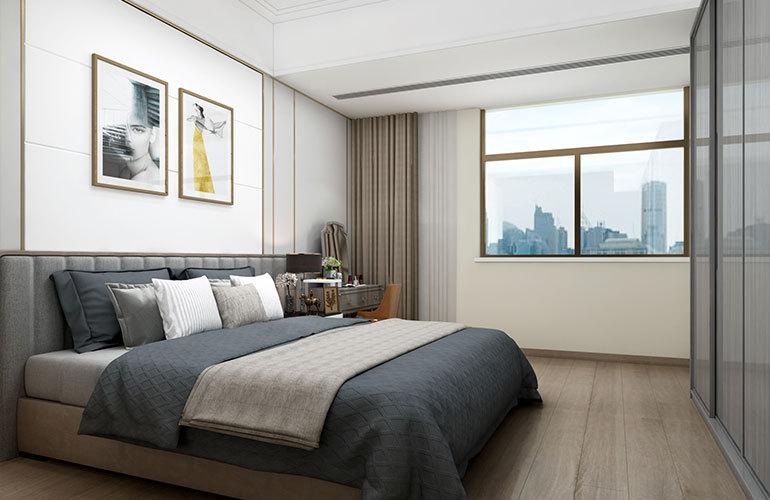 香江温泉人家 公寓卧室
