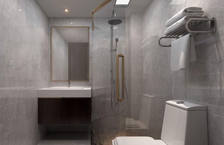 香江温泉人家 洋房浴室