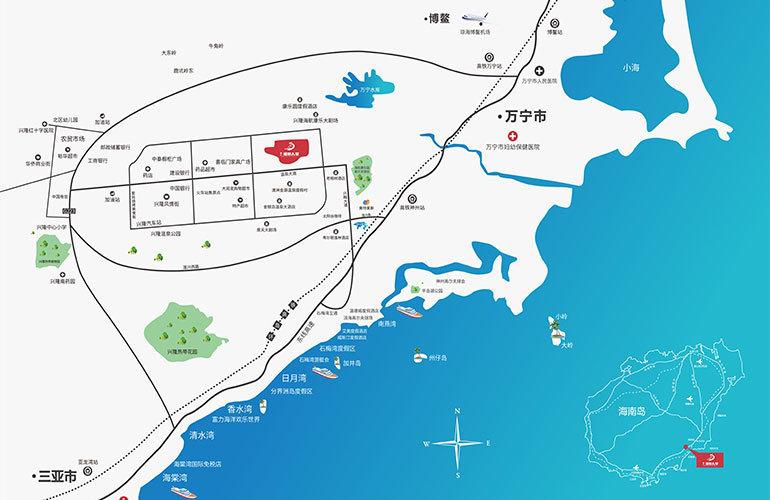 香江温泉人家区位图