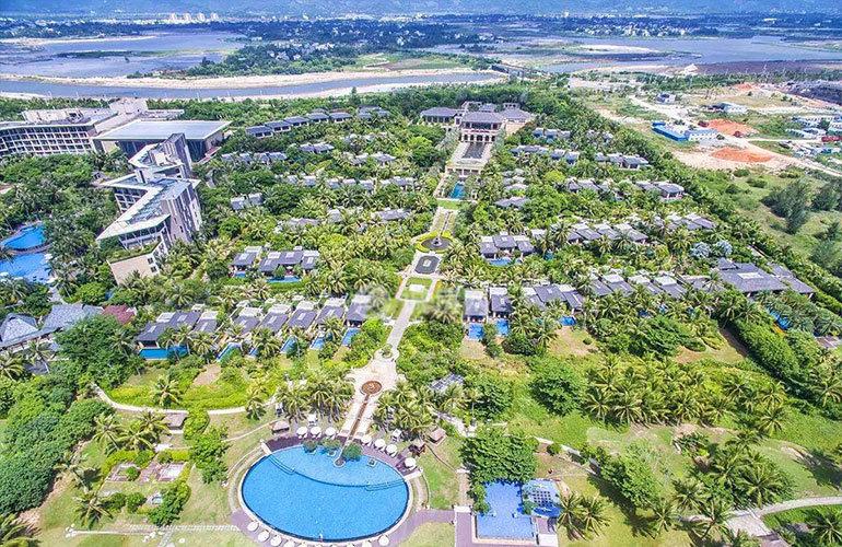 国家海岸保利海棠湾 实景图