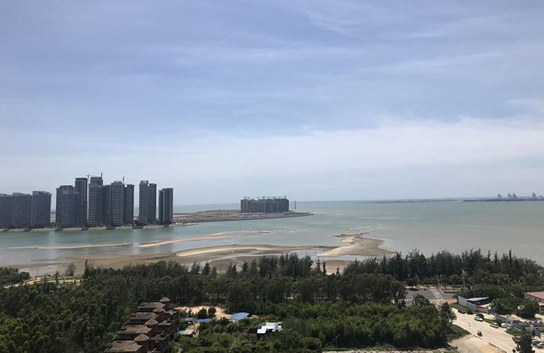 中商海花东岸 窗外的景色