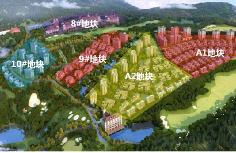 温泉山谷 规划图