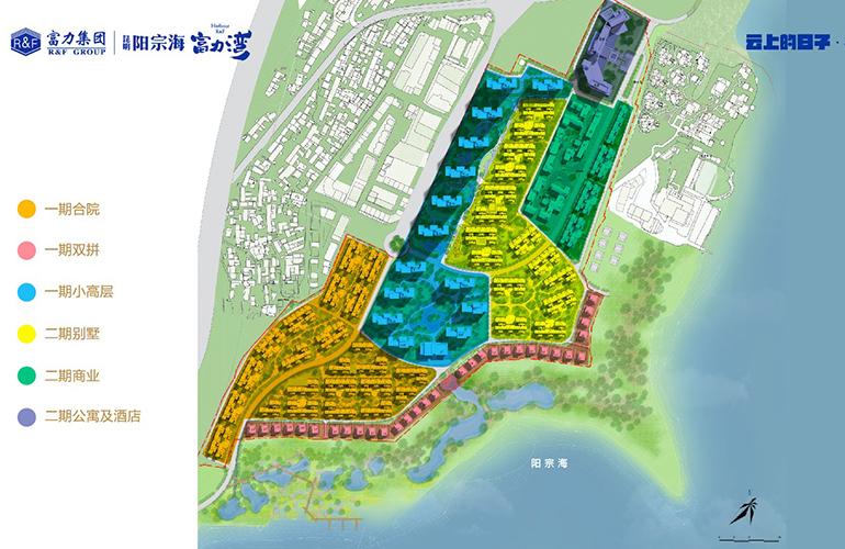 昆明富力湾 规划图