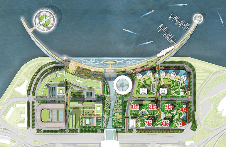世茂港珠澳口岸城规划图