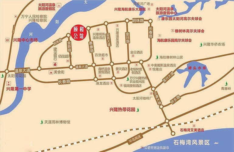 颐和公馆 区位图