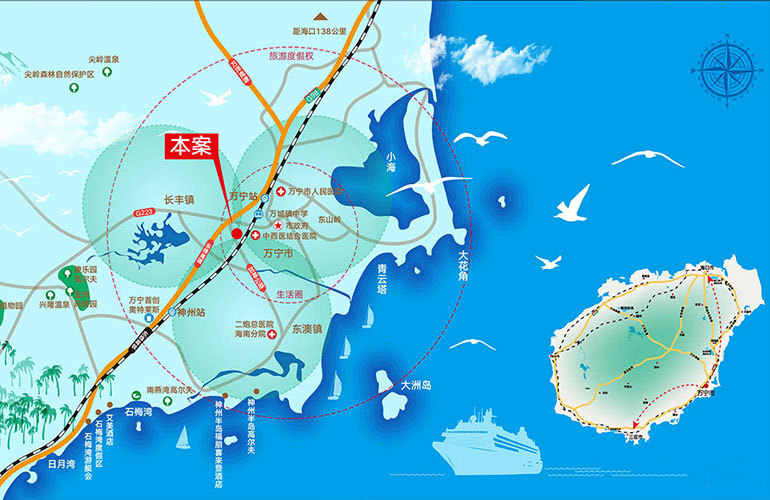 滨湖尚城区位图