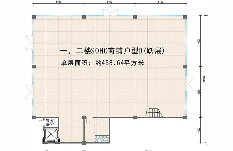 夏日广场 458㎡户型
