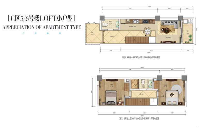 龙栖湾新半岛 C区5/6号楼LOFT小户型