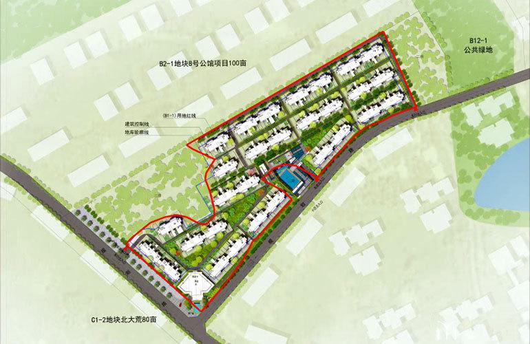 海棠香居 规划图