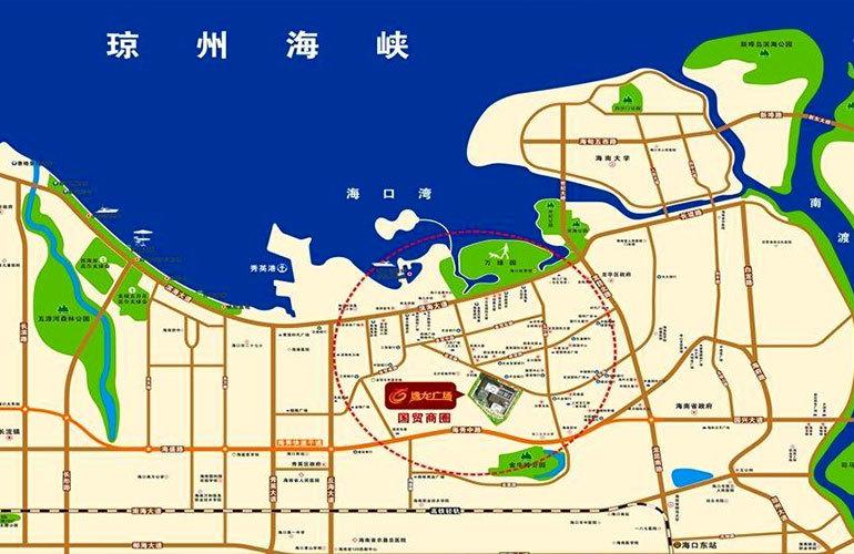 逸龙广场 区位图