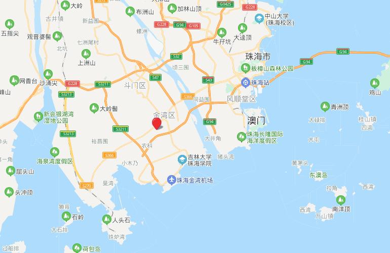 金湾宝龙城 区位图