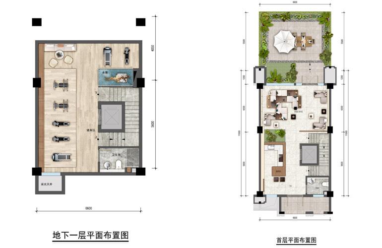 绿地空港GIC 楼层平面图 建筑面积130㎡