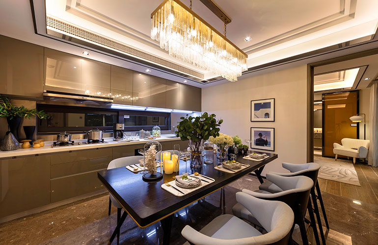融创海棠湾 厨房+餐厅