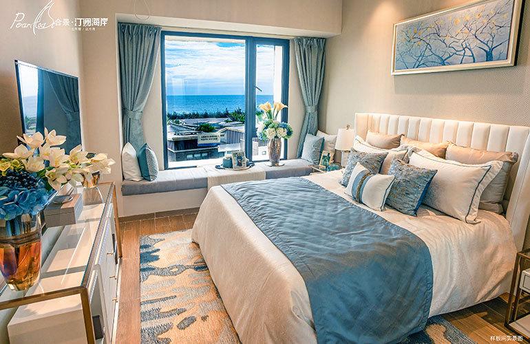 合景汀澜海岸 卧室