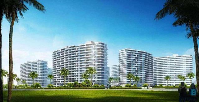 三亚艺海棠高层住宅在售,主推7#、12#和13#,均价60000元/㎡
