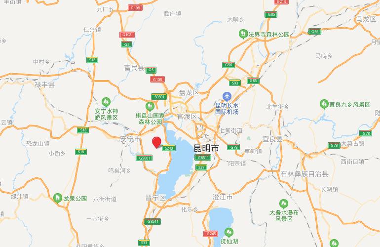 浩创悦山湖 区位图