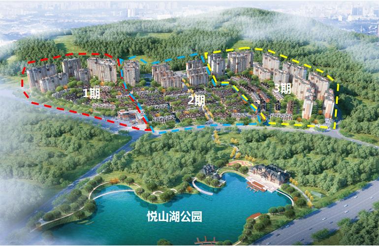 浩创悦山湖 规划图