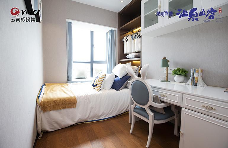 温泉山谷 6期样板间:卧室